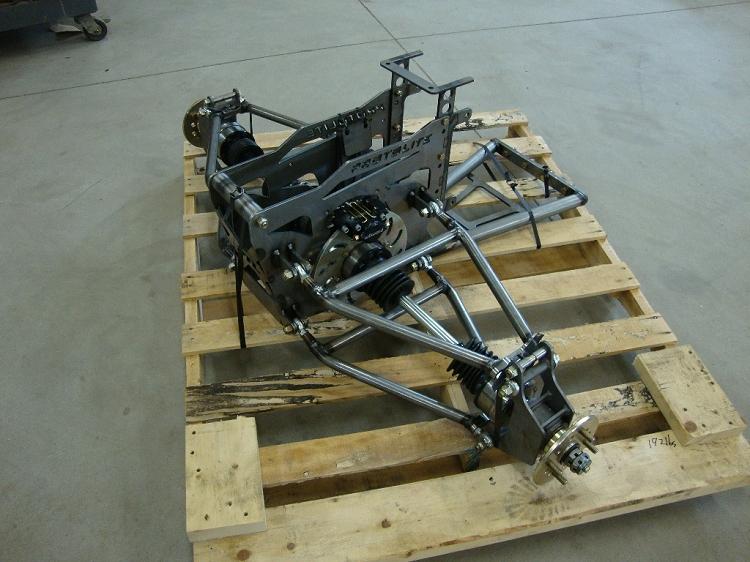 Motorcycle Buggy Complete Rear drivetrain & suspension