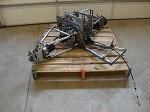 Motorcycle Buggy Complete Rear drivetrain & suspension w/reverse