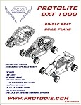 Protolite DXT Single Seat Buggy Plans - Electronic